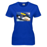 Ladies Royal T Shirt-Bendix Truck in Lights
