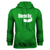 Kelly Green Fleece Hoodie-Bendix