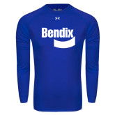 Under Armour Royal Long Sleeve Tech Tee-Bendix