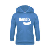Youth Light Blue Fleece Hoodie-Bendix