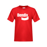 Youth Red T Shirt-Bendix