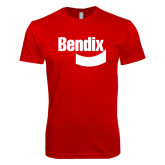 Next Level SoftStyle Red T Shirt-Bendix