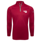 Under Armour Red Tech 1/4 Zip Performance Shirt-Bendix