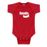 Red Infant Onesie-Bendix