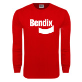Red Long Sleeve T Shirt-Bendix