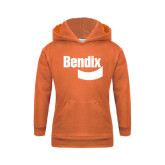 Youth Orange Fleece Hoodie-Bendix