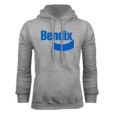 Grey Fleece Hoodie-Bendix