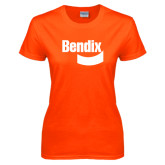 Ladies Orange T Shirt-Bendix