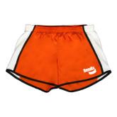 Ladies Orange/White Team Short-Bendix