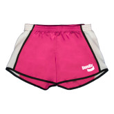 Ladies Fuchsia/White Team Short-Bendix