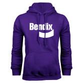 Purple Fleece Hoodie-Bendix