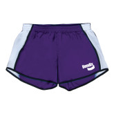 Ladies Purple/White Team Short-Bendix