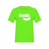 Youth Neon Green T Shirt-Bendix