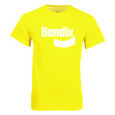 Neon Yellow T Shirt-Bendix