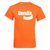 Neon Orange T Shirt-Bendix