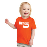 Toddler Orange T Shirt-Bendix