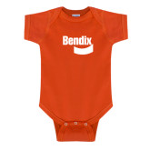 Orange Infant Onesie-Bendix