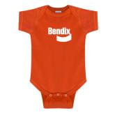 Orange Infant Onesie-Bendix