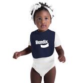 Navy Baby Bib-Bendix