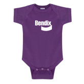 Purple Infant Onesie-Bendix