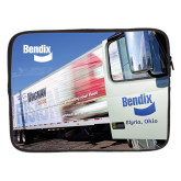 15 inch Neoprene Laptop Sleeve-Bendix Truck Parking Lot