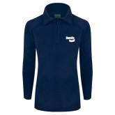 Columbia Ladies Half Zip Navy Fleece Jacket-Bendix