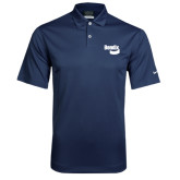Nike Dri Fit Navy Pebble Texture Sport Shirt-Bendix