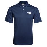 Nike Dri Fit Navy Pebble Texture Sport Shirt-Bendix