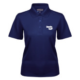 Ladies Navy Dry Mesh Polo-Bendix