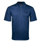 Navy Mini Stripe Polo-Bendix