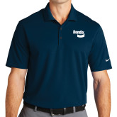 Nike Golf Dri Fit Navy Micro Pique Polo-Bendix