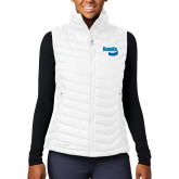 Columbia Lake 22 Ladies White Vest-Bendix