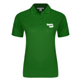 Ladies Easycare Kelly Green Pique Polo-Bendix