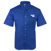 Royal Twill Button Down Short Sleeve-Bendix