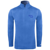 Nike Sphere Dry 1/4 Zip Light Blue Cover Up-Bendix