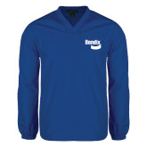 V Neck Royal Raglan Windshirt-Bendix
