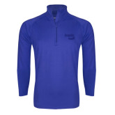Sport Wick Stretch Royal 1/2 Zip Pullover-Bendix