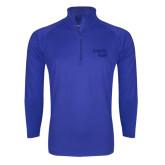 Sport Wick Stretch Royal 1/2 Zip Pullover-Bendix