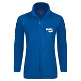 Ladies Fleece Full Zip Royal Jacket-Bendix
