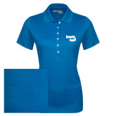 Ladies Callaway Opti Vent Sapphire Blue Polo-Bendix