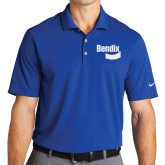 Nike Golf Dri Fit Royal Micro Pique Polo-Bendix