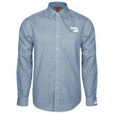 Red House Light Blue Plaid Long Sleeve Shirt-Bendix
