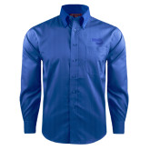 Red House French Blue Dobby Long Sleeve Shirt-Bendix