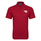 Red Dry Zone Grid Polo-Bendix