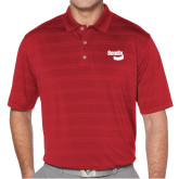 Callaway Horizontal Textured Deep Red Polo-Bendix