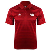 Adidas Climalite Red Jaquard Select Polo-Bendix