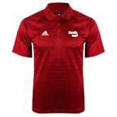 Adidas Climalite Red Jaquard Select Polo-Bendix
