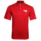 Nike Dri Fit Red Pebble Texture Sport Shirt-Bendix