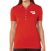 Ladies Callaway Opti Vent Red Polo-Bendix