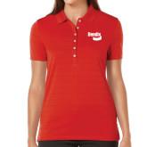 Ladies Callaway Opti Vent Red Polo-Bendix